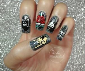 nail art, nails, and rad image