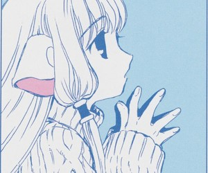 chobits, anime, and chii image