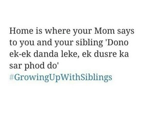 india, siblings, and funny memes image