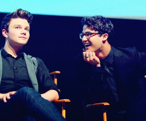 glee, chris colfer, and kurt hummel image