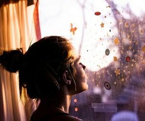 girl, window, and Dream image