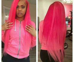 pink and weave image