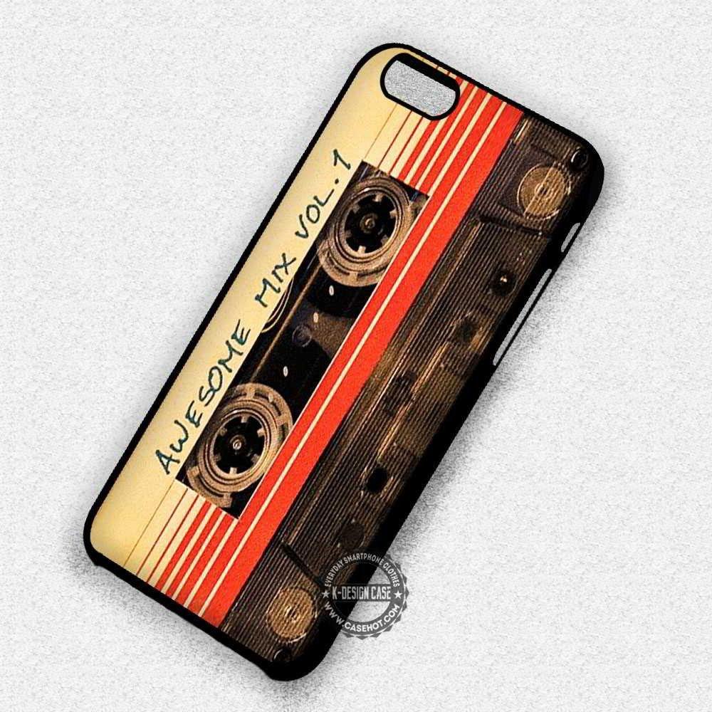 Old Cassette Mixtape Guardians Galaxy - iPhone 7 6S 5C SE Cases ...