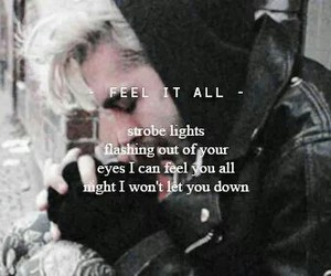 tokio hotel, feel it all, and bill image