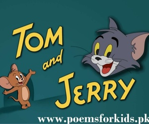 tom and jerry, cartoon, and cat image