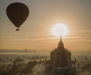 myanmar and travel image