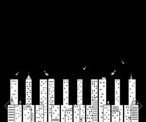 musica, città, and pianoforte image