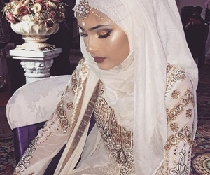 beauty, hijab, and indian image
