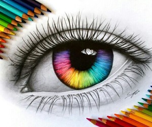 art, color, and drawing image