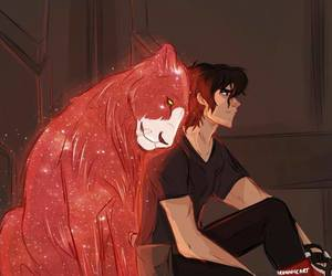 Voltron, keith, and red lion image