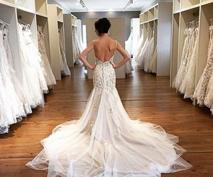 beautiful, dress, and long dress image
