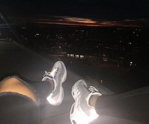 nike, shoes, and light image
