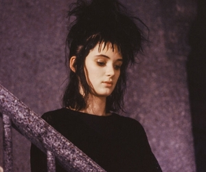 winona ryder and 80s image