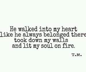 love fire soul image