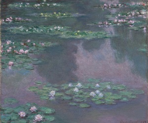 art, claude monet, and impressionism image
