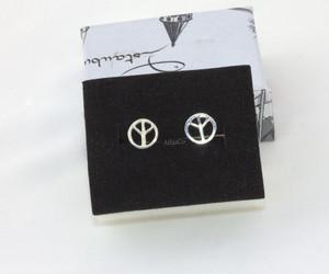 earrings, girl post earrings, and stud earrings image