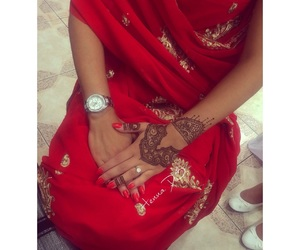 henna, indian, and mariage image