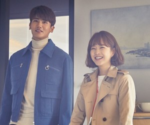 strong woman, hyungsik, and park bo young image