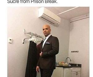 Drake, prison break, and funny image