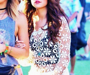 selena gomez, style, and coachella image
