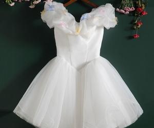 cute dress, homecoming dress, and white dress image
