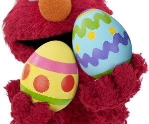 easter, egg, and elmo image