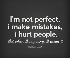 mistakes, sorry, and quotes image