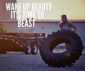 beast, fit, and good morning image