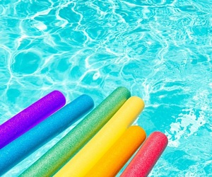 colorful, rainbow, and summer image