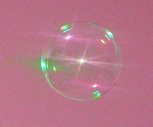 bubbles, aesthetic, and pink image