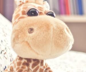 giraffe, toys, and wallpaper image