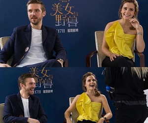 beauty and the beast, dan stevens, and emma wtason image