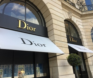 boutiques, dior, and vendome image