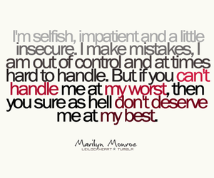 Marilyn Monroe and quotes image