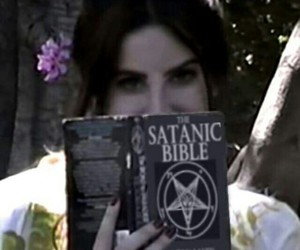 lana del rey, lana, and bible image