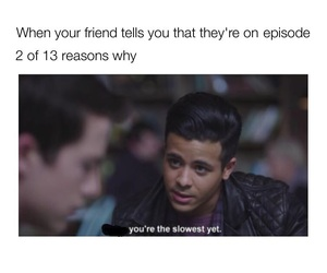 13 reasons why, tony, and netflix image