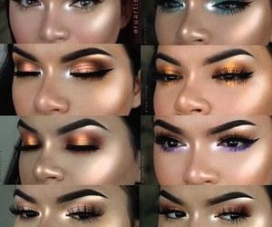 beauty, eyeliner, and eyeshadow image