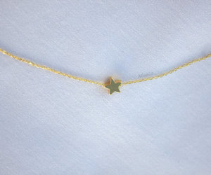 etsy, star necklace, and charm necklaces image