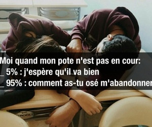 absent, francais, and people image
