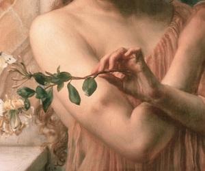 art, rose, and details image