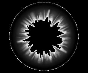 big, black eyes, and circle image