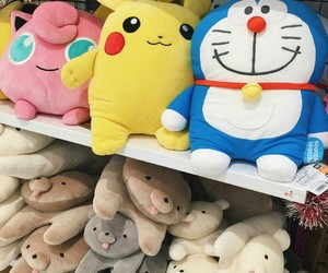 doraemon, toy, and japan image