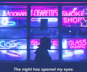 aesthetic, alternative, and neon image