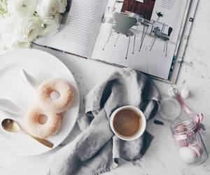 boho, coffee, and fashion image