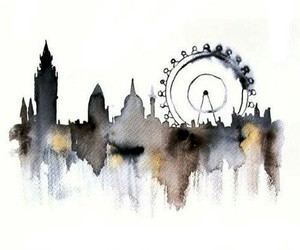background, london, and white image