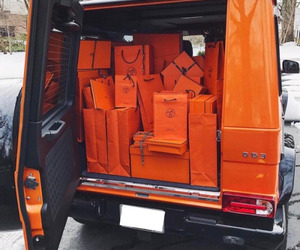 car, hermes, and luxury image