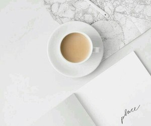 coffee, minimalist, and white image