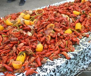 crawfish, food, and seafood image