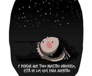 universo, frases, and stars image