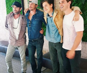 luke perry, cole sprouse, and riverdale image